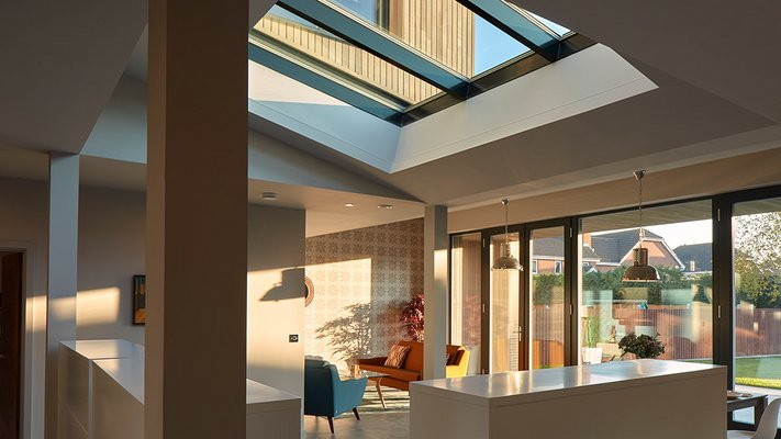 LAMILUX Glasdach PR60 Passivhaus - Potton Show Homes St. Neots