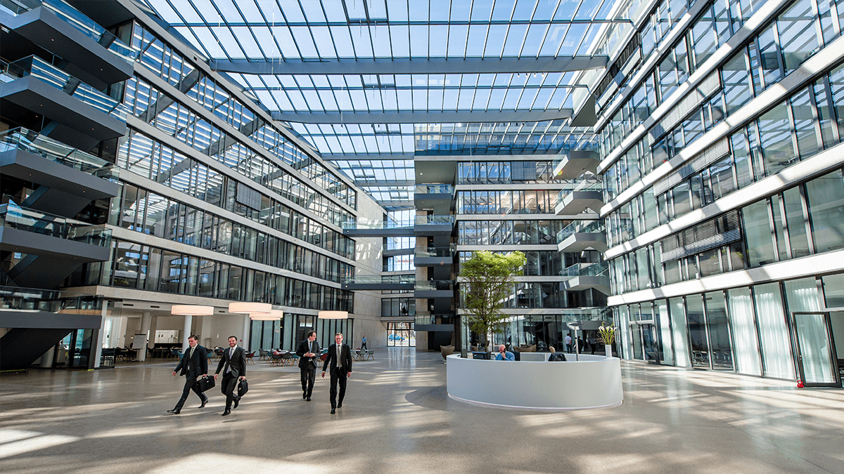 LAMILUX Glasdach PR60 am FGS Campus in Bonn